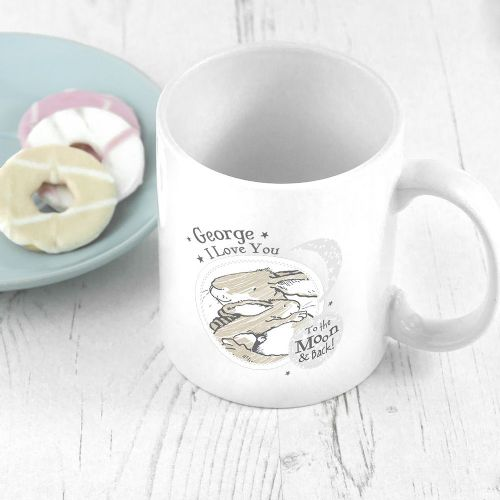 Personalised Guess How Much I Love You To The Moon And Back Mug